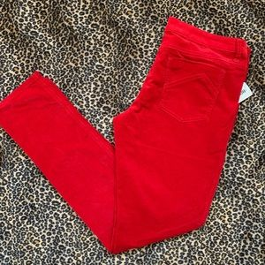 Tripp NYC distressed corduroy skinny jeans